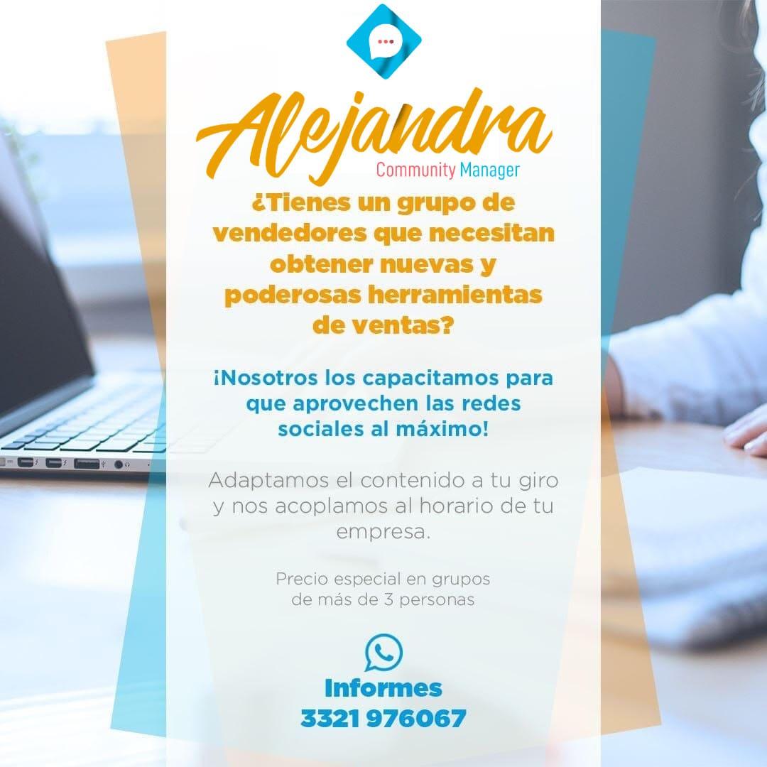 AlejandraCommunityManager